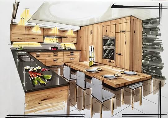 Menuiserie_soeder-Obtenez un dessin réaliste de votre cuisine-cuisine soeder