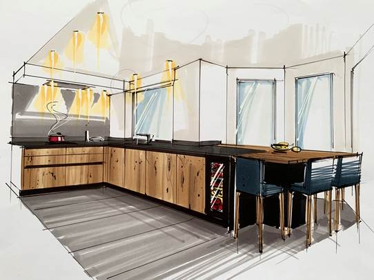 Menuiserie_soeder-Obtenez un dessin réaliste de votre cuisine-menuiserie soeder cuisine c 2